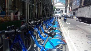 NYの自転車シェアリング