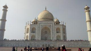 インド①首都デリーとアグラ。髪を切ってみた